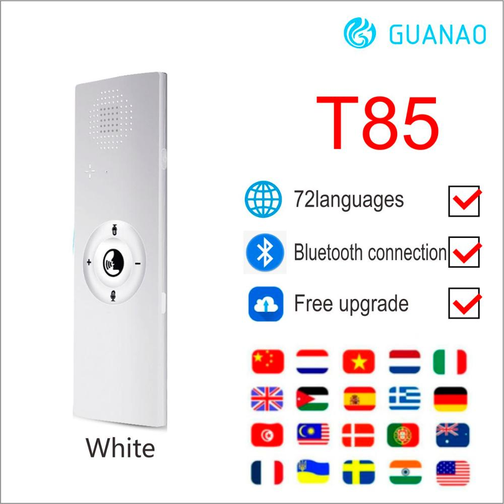 Real Time Intelligent Two-Way Instant Voice Translator Simultaneo 40 Language Travel Business Speech Portable Smart Translation