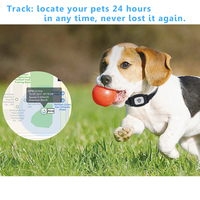 Pets Smart Mini GPS Tracker Anti Lost Waterproof Tracer For Pet Dog Cat Keys Wallet Bag Kids Trackers Finder Equipment