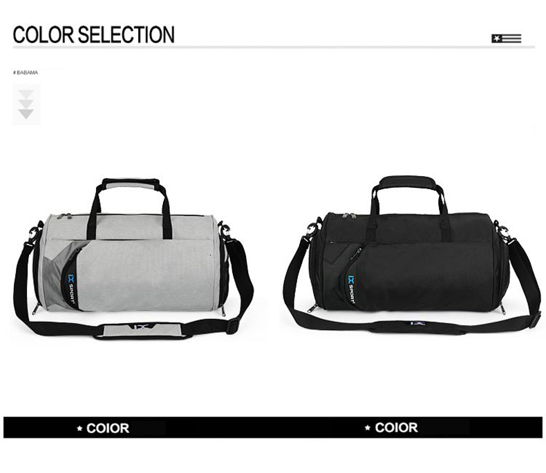 Waterproof Sport Bags Men Large Gym Bag Women Yoga Fitness Bag Outdoor Travel Luggage Hand Bag with Shoe Compartment 2019 (13)