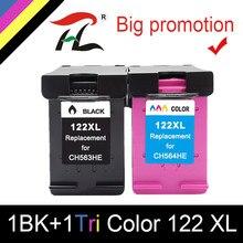 HTL 122XL Compatível Do Cartucho De Tinta para HP 122 para hp 122 para Hp Deskjet 1000 1050 2000 2050s 3000 3050A 3052A 3054 1010 1510 2540