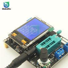 купить Russian GM328 Transistor Tester LCR Diode Capacitance ESR Meter PWM Square Wave Frequency Signal Generator Digital Multimeter дешево