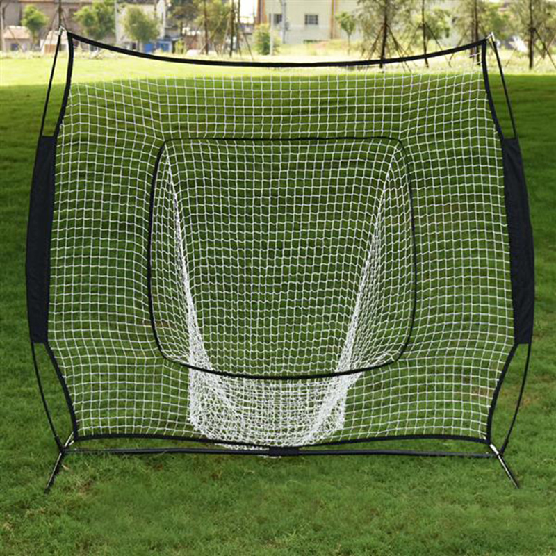 Baseball Train Net Rack Rebound Goal Sleevelet Baseball Softball Practice Hitting Batting Pitching Training Net