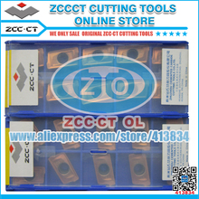 Cutter Lathe-Tool Milling-Insert ZCCCT Cemented Carbide 100pcs YB9320 APKT160408-APM
