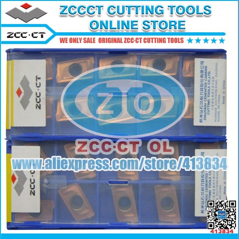 100pcs YB9320 APKT160408-APM CVD ZCCCT Cemented Carbide Milling Insert Positive Insert