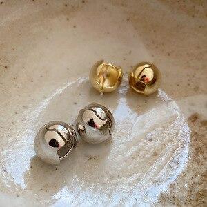 Винтажные серьги-гвоздики с французским орнаментом, в русском стиле, из стерлингового серебра 925 пробы, несколько круглых сферических зажим...