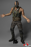 DAFTOYS 1/6 Scale Collectible Full Set Batman Bane Strong Edition Set Head Clothes Body Weapon Accessory FIRE A024