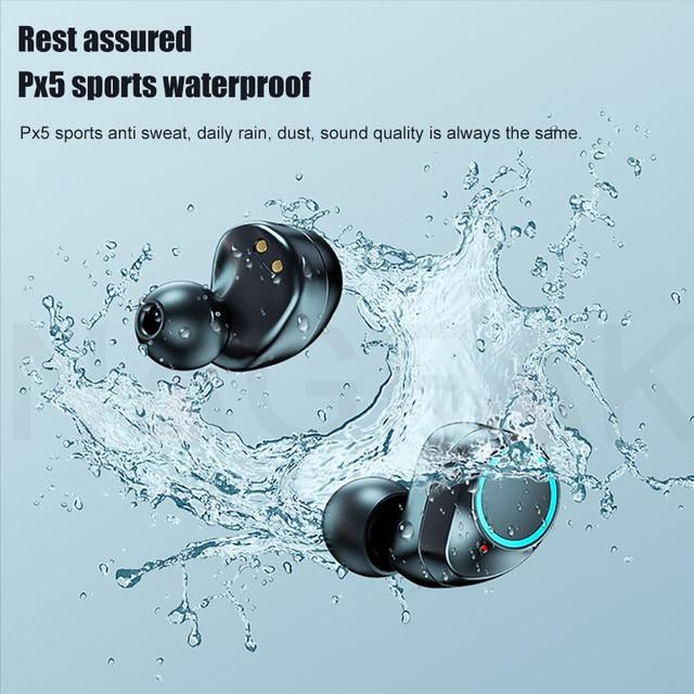 TWS Bluetooth 5.0 Earphones 3500mAh Charging Box Wireless Headphone 9D Stereo Sports Waterproof Earbuds Headsets With Microphone 2