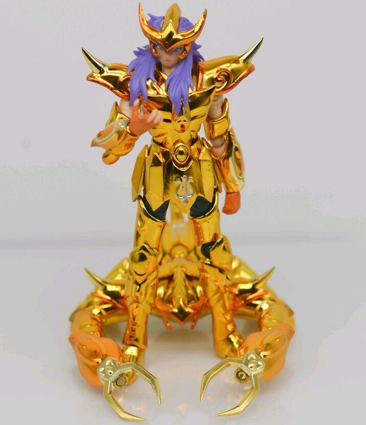 Modèle Mini DDP or Saint Milo scorpion avec objet 10cm métal armure figurine jouet D.D.P taille