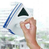 Cepillo magnético ABS limpiador de ventanas familia alto edificio doble limpiador fácil limpieza Herramientas de limpieza vidrio duradero resistente|Brochas de limpieza|Hogar y jardín -