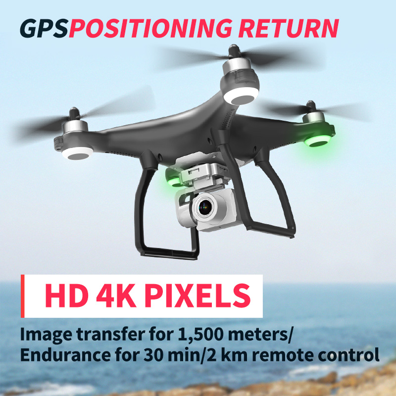 X35 RC Drone GPS WiFi 4K HD Quadcopter Professional Shooting PTZ Stable Anti Shake Aerial Photography Brushless Helicopter