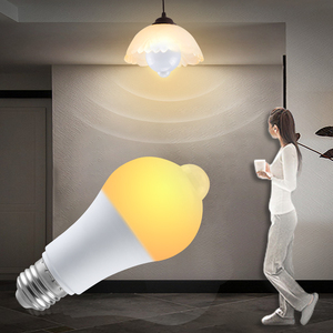 Auto On Off PIR Motion Sensor Light Bulb Infrared Sensitive Night Light 85-265V 12W 15W 18W B22 E27 LED Lamp with Motion Sensor()