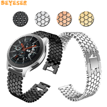 For Gear S3 Frontier/Classic watch bands metal belt Smart accessories Replacement wristband Samsung Galaxy 46mm straps