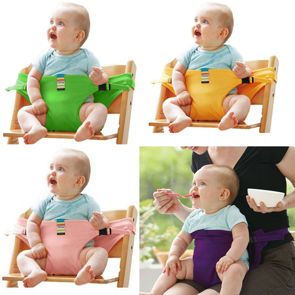 2019 Portable Safety Baby Chair Harness Travel Foldable Washable Infant High Dinning Cover Seat