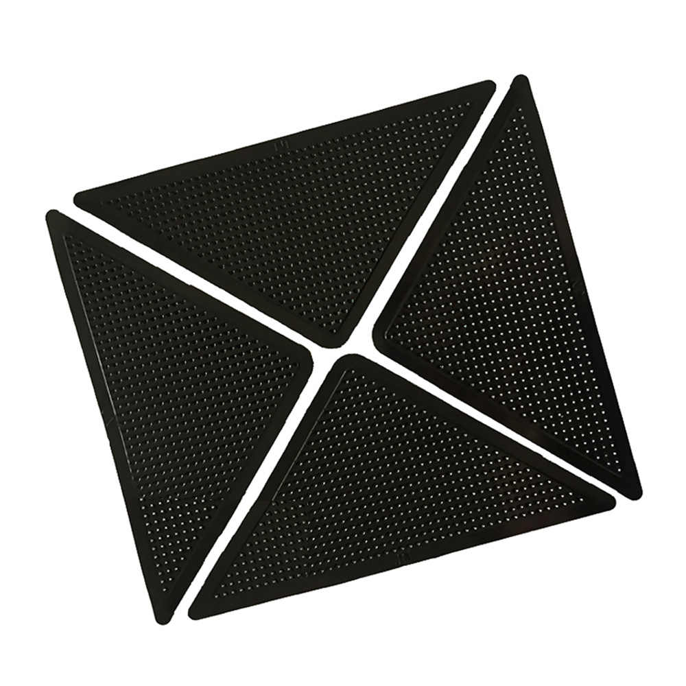 2 Pcs Reusable Mudah Dicuci Silikon Grip Slip Stiker Non Slip Kamar Mandi Karpet dan Tikar Set Mandi Set Karpet Karpet mat Grippers