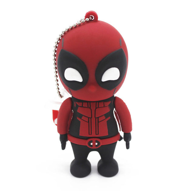 JASTER USB flash 2 0 pendrive Deadpool driver pen 4GB 16GB 32GB 64GB Spiderman Memory Stick