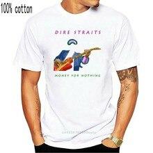 Dire Straits-Dinheiro Para Nada T-shirt cartaz preto todos os tamanhos S...5XL