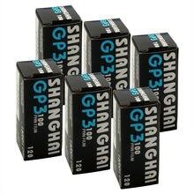 6pcs/lot  Shanghai GP3 120 Black & White B&W B/W ISO 100 Roll Pan Film Negative
