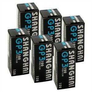 Image 1 - 6pcs/lot  Shanghai GP3 120 Black & White B&W B/W ISO 100 Roll Pan Film Negative
