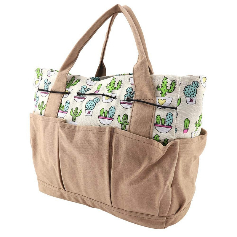 GTBL Garden Hardware Tools Storage Bags Multi-Purpose Garden Tool Organizer Diaper Bag Holder Market Tote