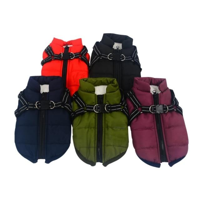 Waterproof Jackets with Adjustable Harness 3