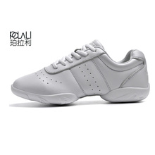 POLALI Kids' sneakers children's competitive aerobics shoes