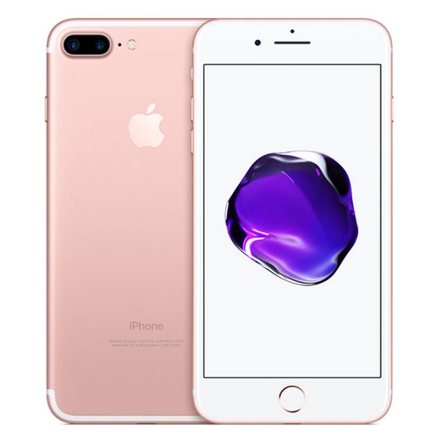 Unlocked Original Apple iPhone 7 Plus 3GB RAM 32/128GB/256GB ROM iOS 4G LTE Unlocked Cellphone Quad-Core Fingerprint 12MP Phone