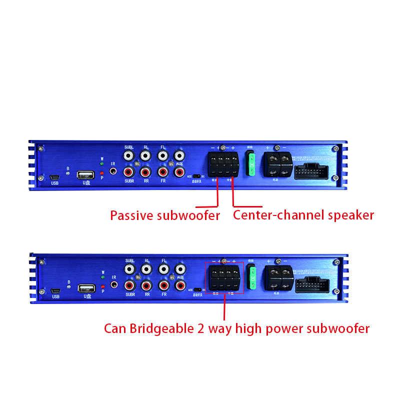 Dsp Bluetooth Car 31 Segmento processador de áudio lossless áudio do carro amplificador 5.1 subwoofer amplificador de áudio carro modificado T0965