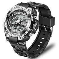 LIGE 2021 Uhren Für Männer Top Luxus Marke Business Quarz herren Uhr Edelstahl Wasserdichte Armbanduhr Relogio Masculino