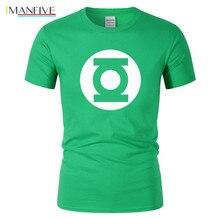 2019 New Green Lantern t shirt Men The Big Bang Theory T-shirt Top Quality Cotton Sheldon Cooper Super heroT Shirts