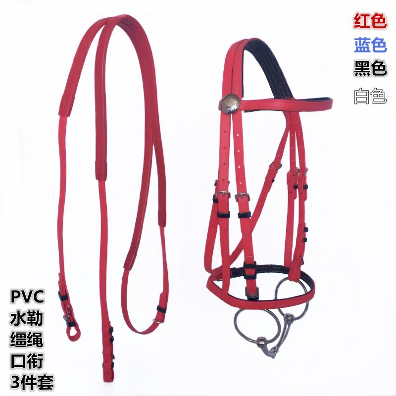 Horse Bridle Rein Headstall Thickened Halter Equestrian Accessories Removabl Webbing Horse Riding Equipment Halters BG50HH