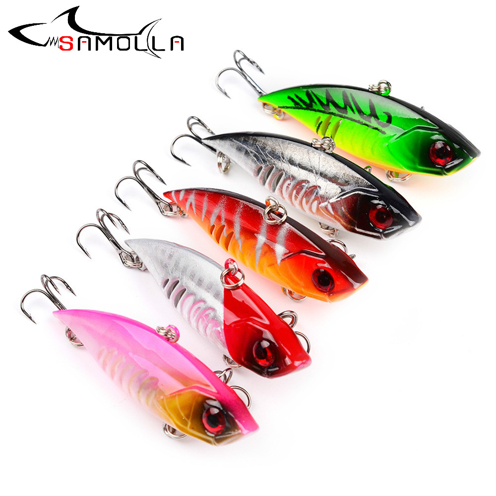 VIB Fishing Lure Fake Bait Weights 6.5/11g Hard Bait Bass Fishing Tackle Saltwater Lures Trolling Pencil Lure Isca Artificial