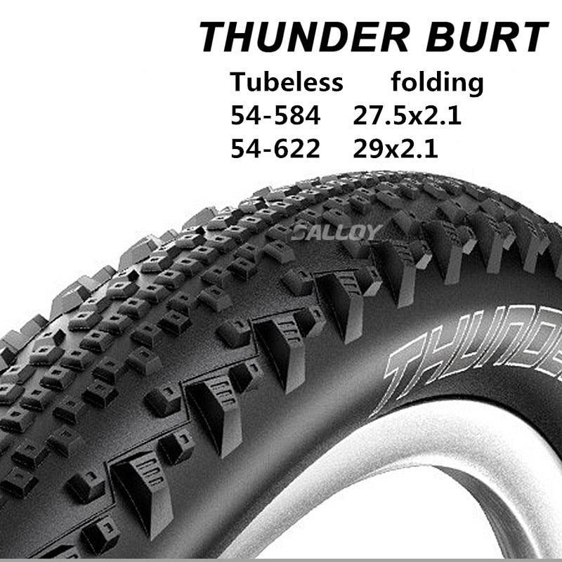 THUNDER BURT mountain bike tubeless tire folding 27.5x2.1 / 29x2.1 MTB vacuum tire XC / AM puncture prevention tire