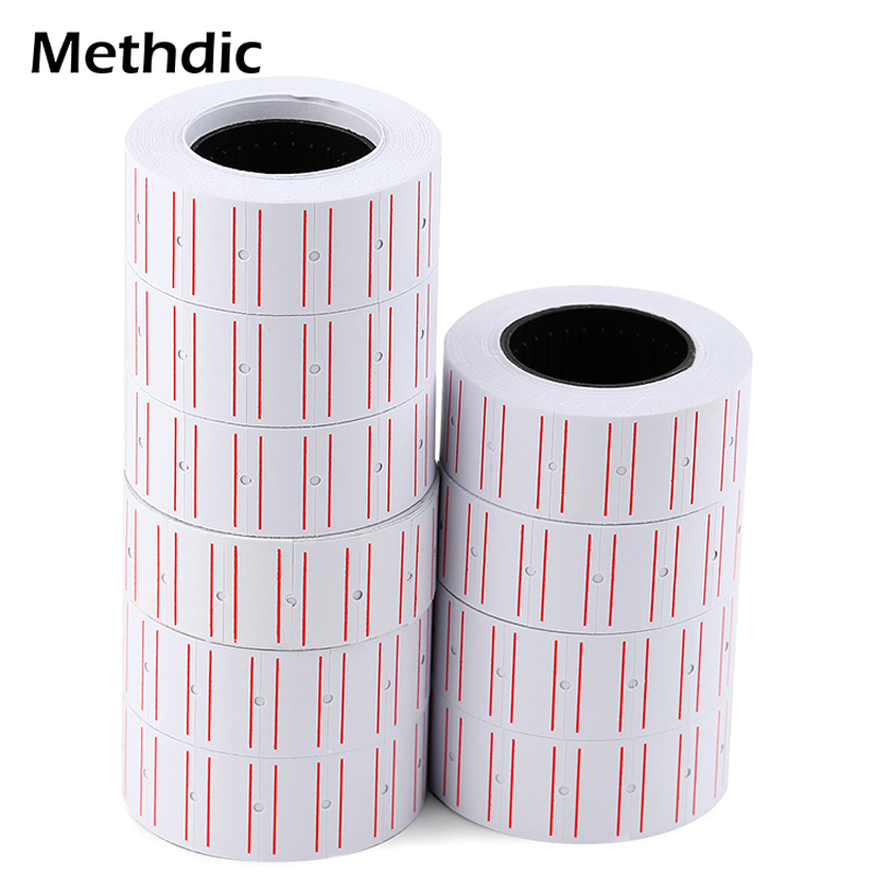 Methdic 10rolls/Lot Pricing Stickers Price Tag Price Gun Label Stickers For Retail