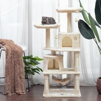 VOGVIGO Cat Tree Tower Condo Furniture Scratch Post for Kitten Pet House Play Scratching Posts Plush Perches and Condo Cat Tower