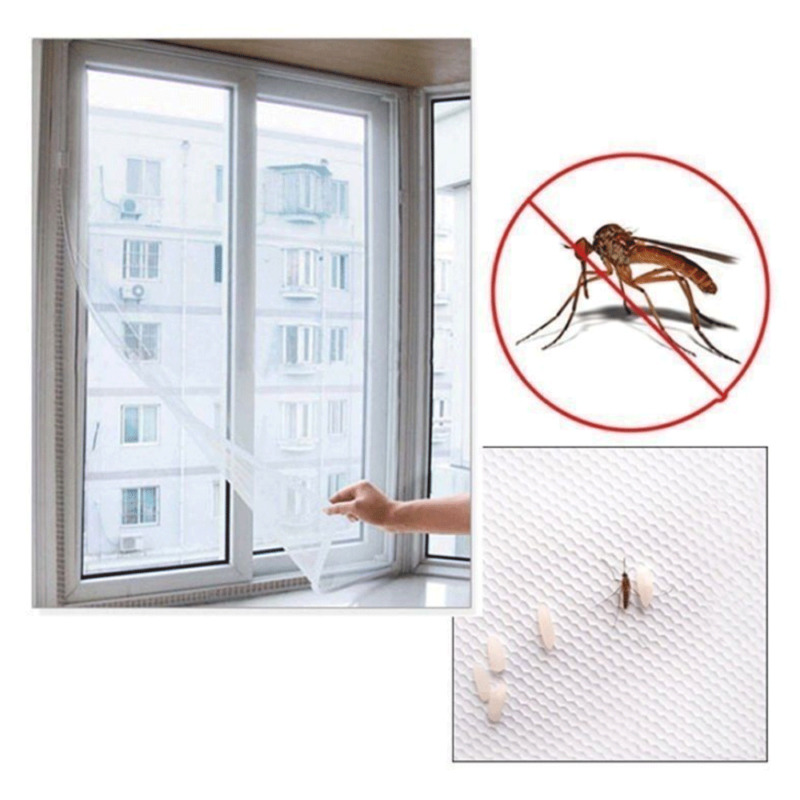 New Fly Mosquito Window Mesh Screen Room Cortinas Anti Mosquito Net Curtain Protector Fly Screen Indoor Insect Net