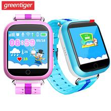 Smart watch dla dziecka q750 dla dzieci zegarek Smart anti-lost GPS SOS otrzymać telefon zwrotny od monitor lokalizacji inteligentny zegarek Q100 dzieci zegar nadgarstek PK Q90 tanie tanio greentiger CN (pochodzenie) Brak Na nadgarstek Zgodna ze wszystkimi 128 MB Budzik Odbieranie połączeń Wykonywanie połączeń