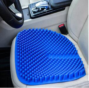 Fashion 3D Breathable Silica Gel Car Seat Cushion Non Slip Soft Comfort Massage Outdoor Home Office Chair Cushion Pad Mat