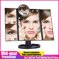 Зеркало с подсветкой Цена от 1511 руб. ($19.47) | 543 заказа Посмотреть