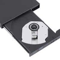 New USB 2.0 External DVD Combo CD-RW Burner Drive CD+-RW DVD ROM Black Wholesale Drop Shipping