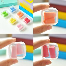 Soft Foam Ear Plugs Sound Insulation Ear Protection Earplugs Anti Noise Snoring Sleeping Plugs for Travel Noise Reduction