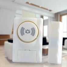 Wireless Home Security Door Window Alarm Warning System Magnetic Door Sensor Independent Alarm Wireless Open Door Detector security warning co alarm detector wireless network alarm electrochemical sensor level ranking alarm with battery