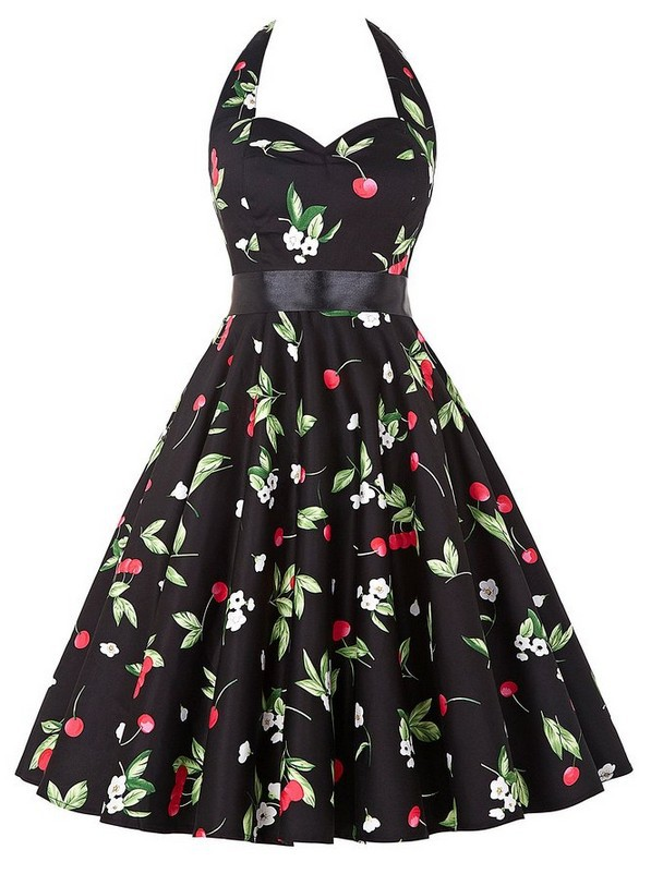 <font><b>AliExpress</b></font> Hot Selling Retro Hepburn Wind 50's Waist Hugging Slimming Big Hemline <font><b>Dress</b></font> with Belt, And image