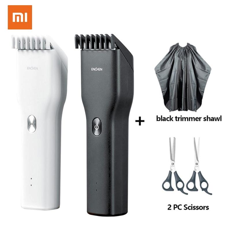 100% Original XiaoMi ENCHEN Powerful Hair Clipper Professional Hair Clipper Men Electric Cutting Machine Hair Clipper Hairdress 1