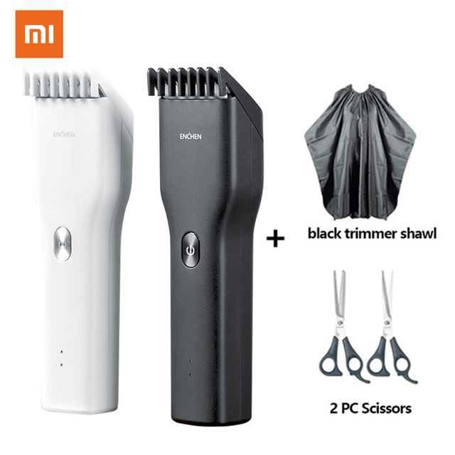100% Original XiaoMi ENCHEN Powerful Hair Clipper Professional Hair Clipper Men Electric Cutting Machine Hair Clipper Hairdress 1