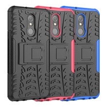 Case For LG Stylo 5 Case Cover Silicone Soft TPU + PC Heavy Duty Armor Back Mobile Phone Holder For LG Stylo 5 Case Coque s style protective tpu back case for lg nexus 5 deep pink