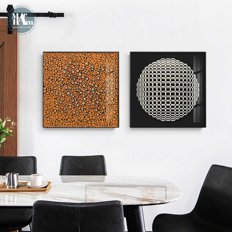 Абстрактная линия Геометрическая художественная живопись холст печать живопись минималистичный плакат Настенные картины для гостиной домашний декор
