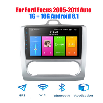 9 2din 2.5D Screen Android 8.1 Car Radio for 2005-2011 Ford Focus Autoradio GPS Navigation Bluetooth Stereo Multimedia player image