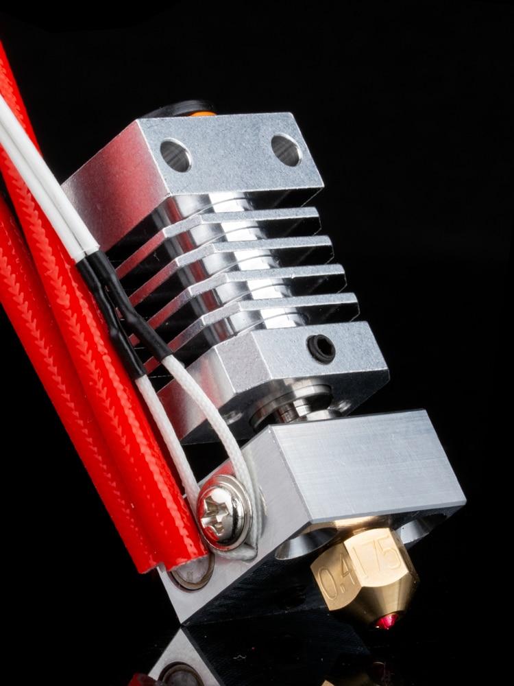 Trianglelab Swiss CR10 hotend Precision aluminum radiator Titanium BREAK 3D print J-head