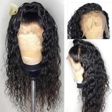 360 Veletta Frontale parrucca di capelli Umani brasiliani Ricci Parrucche Dei Capelli Umani Per Le Donne di Colore Naturale svizzero remy colore dei capelli fornitori