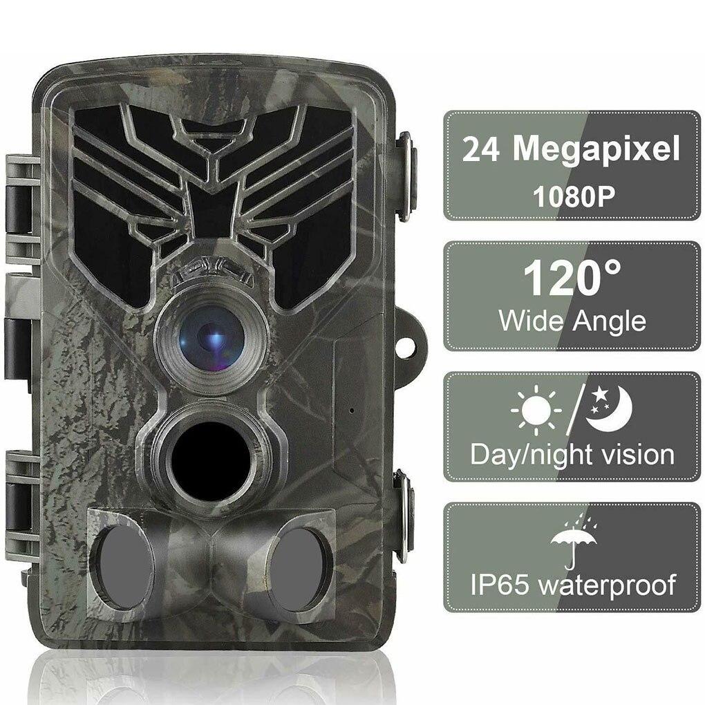 Охотничья камера 20 МП, уличный ИК-фильтр для дикой природы, датчик движения ночного видения, водонепроницаемая камера для слежения IP65